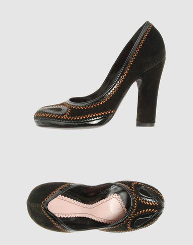 JOHN GALLIANO Women - Footwear - Closed-toe slip-ons JOHN GALLIANO on YOOX
