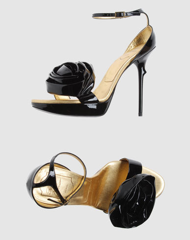ROGER VIVIER Women - Footwear - High-heeled sandals ROGER VIVIER on YOOX :  trousers yoox prada suits