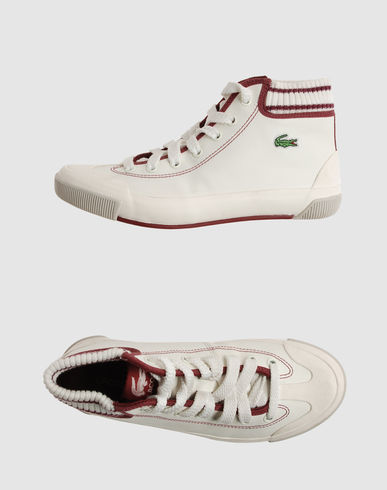 LACOSTE Women - Footwear - Sneakers LACOSTE on YOOX
