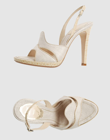 RENE' CAOVILLA Women - Footwear - High-heeled sandals RENE' CAOVILLA on YOOX :  rene caovilla dg sandals shoes