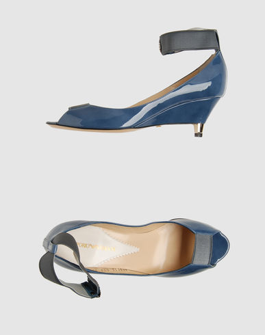 EMPORIO ARMANI Women - Footwear - Closed-toe slip-ons EMPORIO ARMANI on YOOX