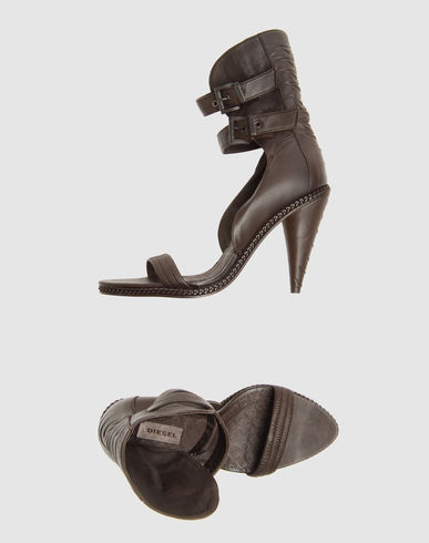 DIESEL High-heeled sandals on YOOX :  fashion designer heels sandals