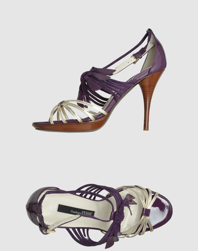 GIANFRANCO FERRE' - Platform sandals