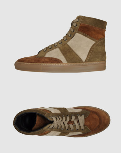 TRUSSARDI 1911 High-top sneaker