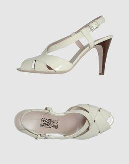 SALVATORE FERRAGAMO High-heeled sandals - Item 44362680
