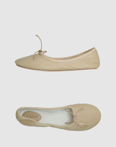CHLOE' Women - Footwear - Ballet flats CHLOE' on YOOX United States from yoox.com