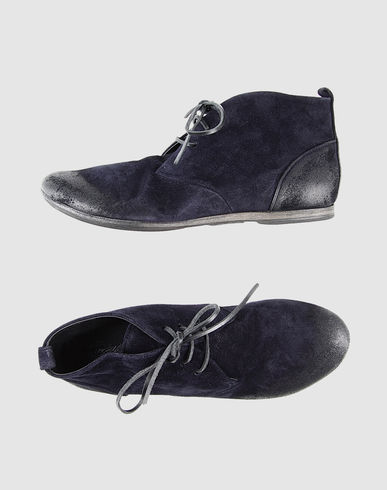 MARSÈLL - High-top dress shoe