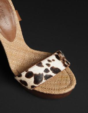 CRYSTAL - Sandali con tacco - Dolce&Gabbana - Estate 2016