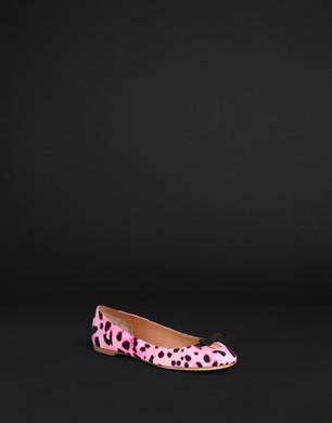 Leopard print canvas ballerina flat - Ballet flats - Dolce&Gabbana - Summer 2016