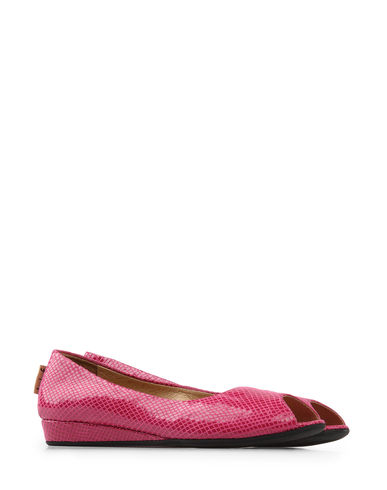 FRENCH SOLE FS/NY - Peep-toe ballet flats