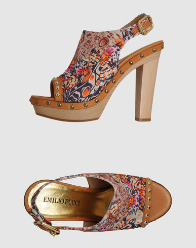 EMILIO PUCCI - Platform sandals
