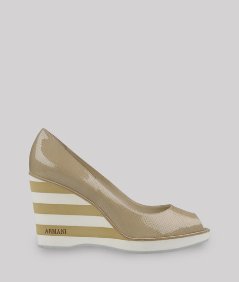 女士坡跟鞋 | armani collezioni