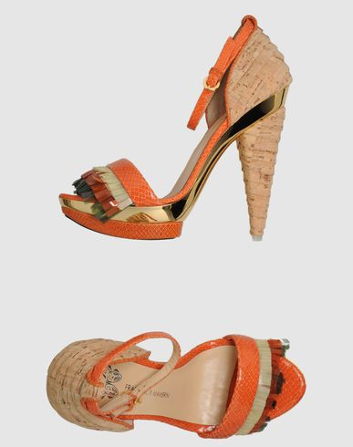 FRANCESCA MAMBRINI - Platform sandals