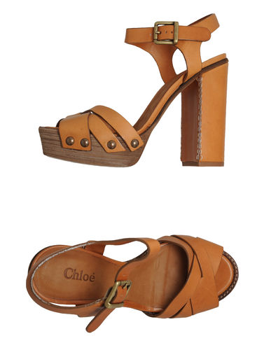 CHLO&#201; - Platform sandals