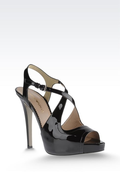Shoes: High-heeled sandals Women by Armani - 2