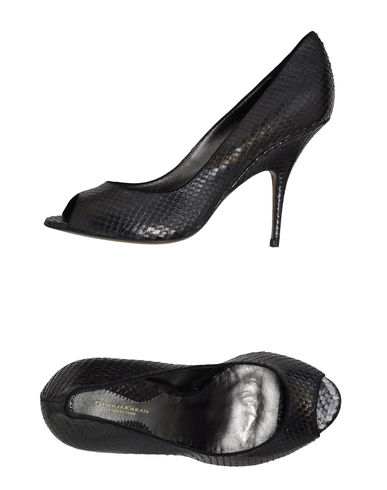 DONNA KARAN - Pumps with open toe