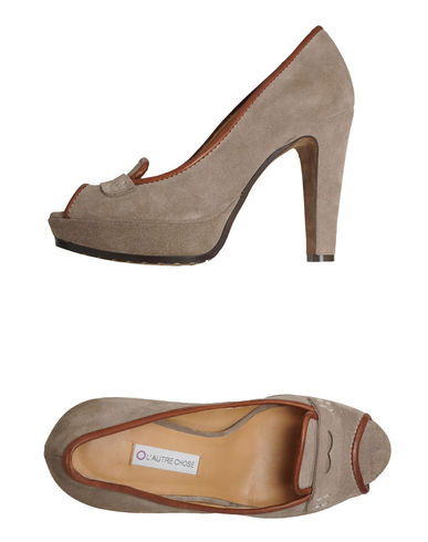 L&#39; AUTRE CHOSE - Pumps with open toe