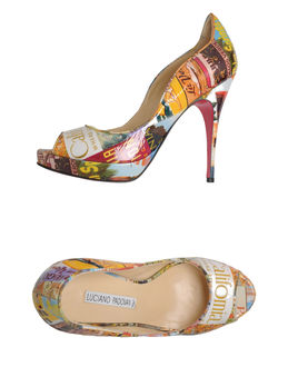 LUCIANO PADOVAN Pumps with open toe