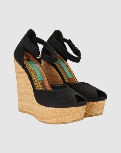 MINK VEGAN SHOES - Wedge