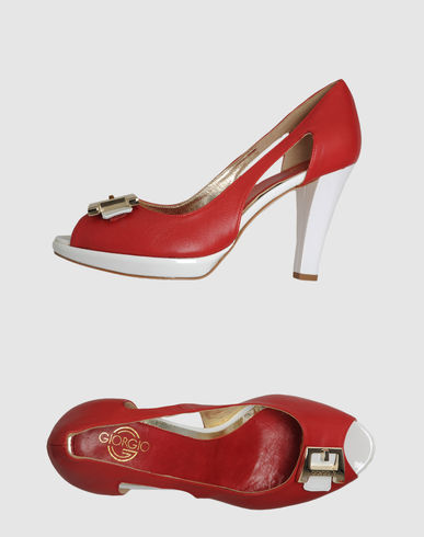 GIORGIO G - Pumps with open toe