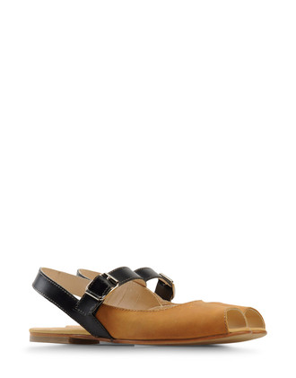 Flat sling-backs - DEUX SOULIERS