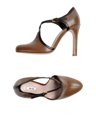 MIU MIU - Closed-toe slip-ons 