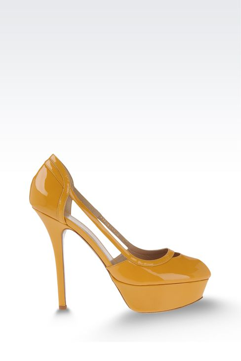 Shoes: Platform sandals Women by Armani - 1