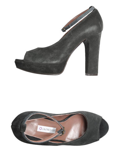 L' AUTRE CHOSE - Pumps with open toe