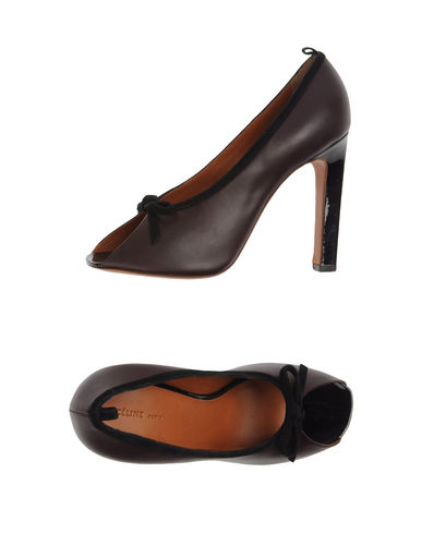 CÉLINE - Pumps with open toe