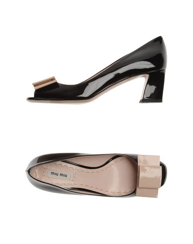 MIU MIU - Pumps with open toe
