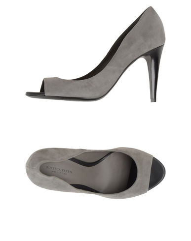 BOTTEGA VENETA - Pumps with open toe