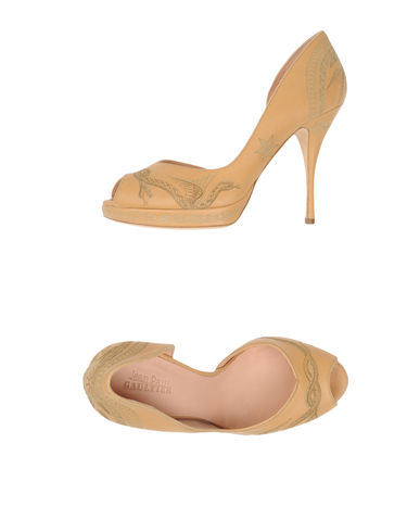 JEAN PAUL GAULTIER - Pumps with open toe