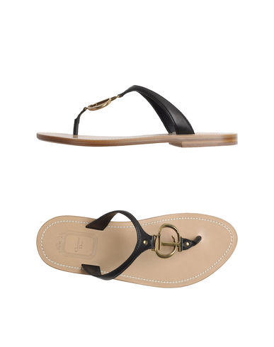 CHRISTIAN DIOR - Flip flops