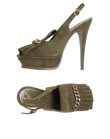 YVES SAINT LAURENT RIVE GAUCHE - Platform sandals