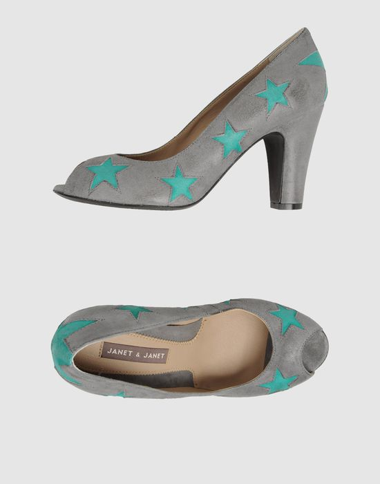 JANET & JANET Туфли с открытым носком janet