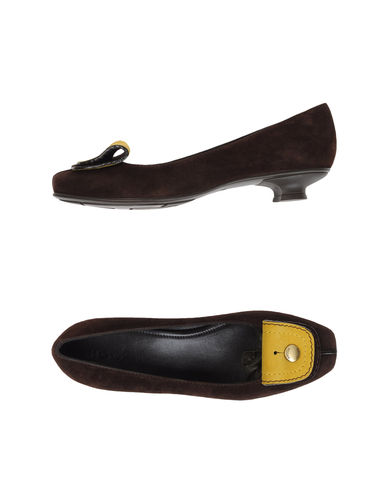 HOGAN - Moccasins with heel