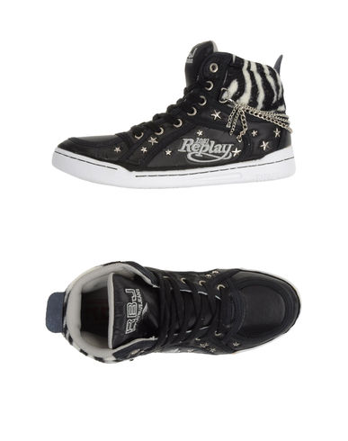 REPLAY - High-top sneaker