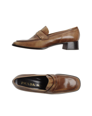 PRADA - Moccasins with heel