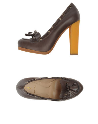 FENDI - Moccasins with heel