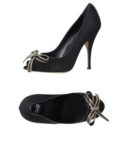 D&G - Pumps with open toe