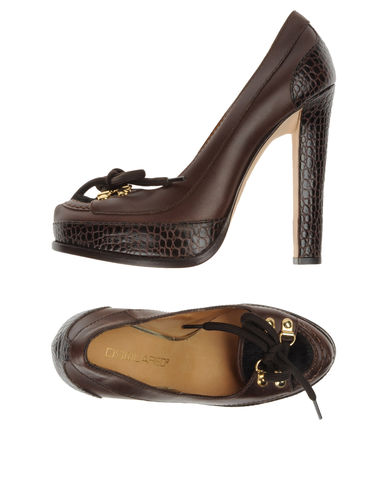 DSQUARED2 - Moccasins with heel