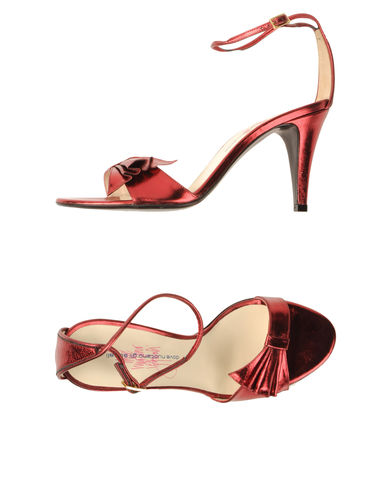 DOVE NUOTANO GLI SQUALI - High-heeled sandals