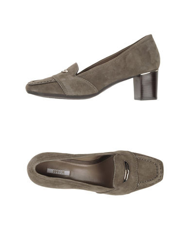 GEOX - Moccasins with heel