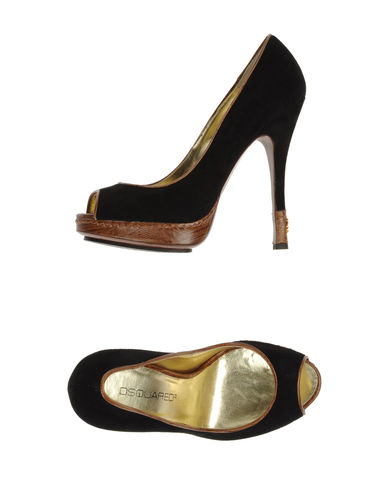 DSQUARED2 - Courts with open toe