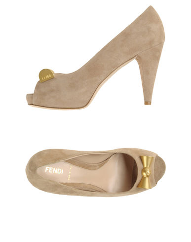 FENDI - Pumps with open toe