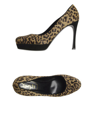 YVES SAINT LAURENT RIVE GAUCHE - Platform pumps