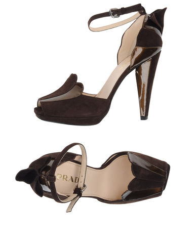 PRADA - Platform sandals