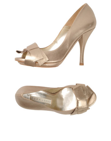 PURA LÓPEZ - Pumps with open toe