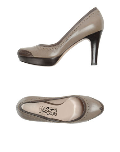 SALVATORE FERRAGAMO - Platform pumps