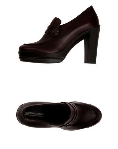 ALBERTO GUARDIANI SPORT - Moccasins with heel